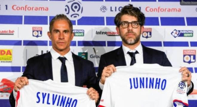 Sylvinho não conseguiu ficar mais do que 11 partidas como técnico do Lyon