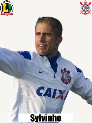 Sylvinho - 5,5 - Em sua estreia como treinador do Corinthians, Sylvinho voltou com a linha de quatro na defesa, e sua equipe fez um primeiro tempo razoável, mas foi punida pelos espaços cedidos. Na segunda etapa, o Corinthians voltou mais agressivo, e as mudanças do treinador melhoraram a equipe, mas as chances perdidas custaram caro na estreia do comandante.