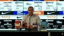 Sylvinho admite que pode mudar esquema do Corinthians: 'Não me apego a sistema tático'