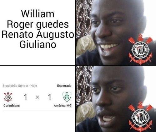 Sylvinho é alvo de memes dos corintianos