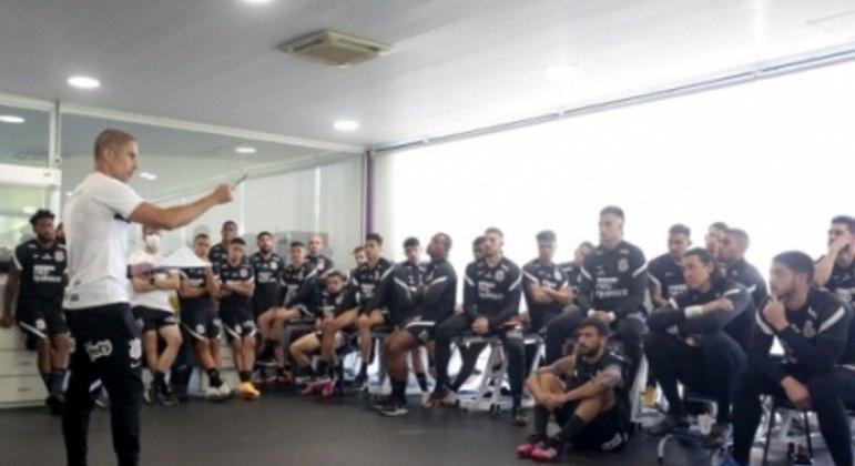 Sylvinho - Primeiro Dia Corinthians