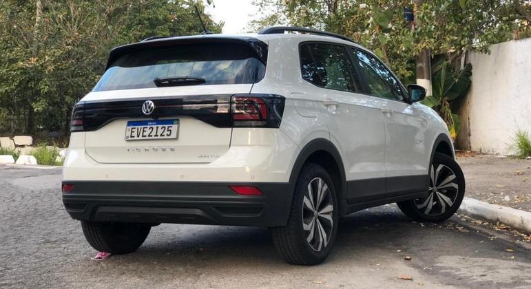 """Na linha 2021, o T-Cross ganhou o VW Play, com tela de 10,1"""""""