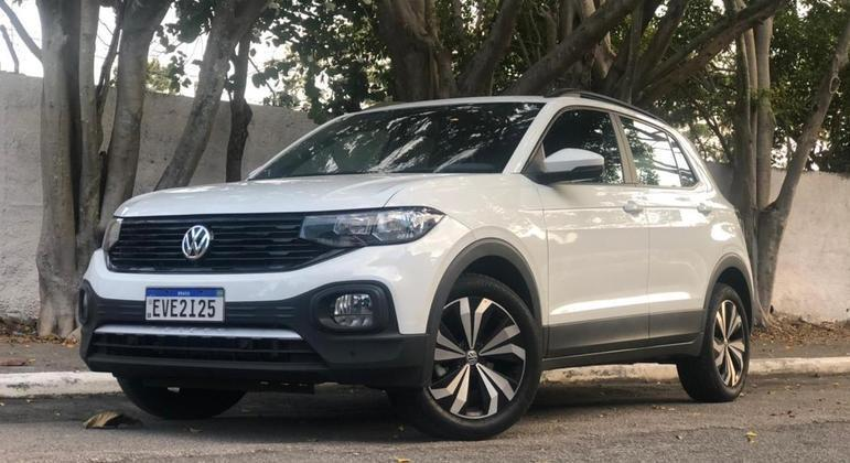 Volkswagen vendeu 5.733 unidades do T-Cross