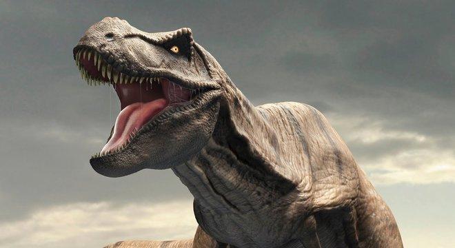 O tiranossauro rex aterrorizou suas presas durante o período Cretáceo