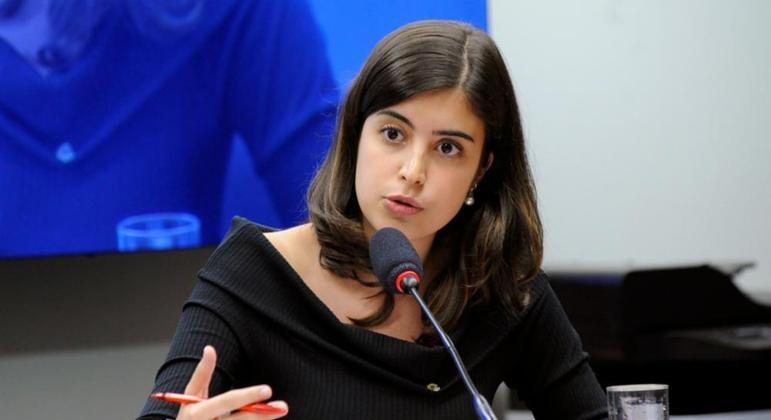 A deputada Tabata Amaral deve se reunir com a cúpula do PSB na próxima semana
