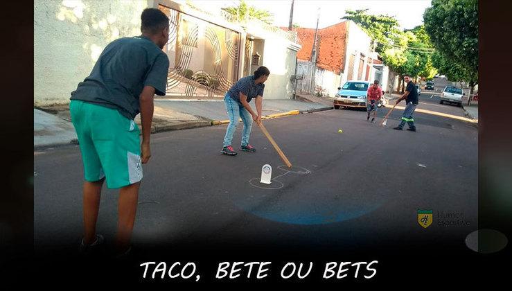 Taco: Nas ruas do Brasil encontraríamos vários atletas olímpicos