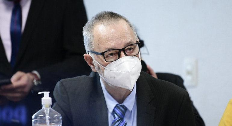 Tadeu Frederico, paciente da Prevent Senior, em depoimento à CPI da Covid-19