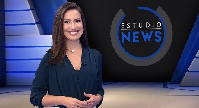Tainá Falcão apresenta o Estúdio News, todas as quartas às 22h00, na Record News