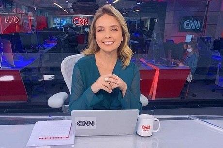 Taís Lopes, âncora da CNN Brasil