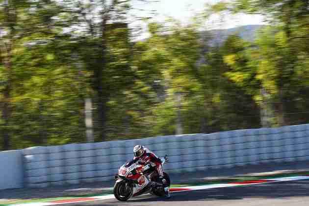 Takaaki Nakagami completou o dia dentro do top-5, a melhor Honda em Montmeló