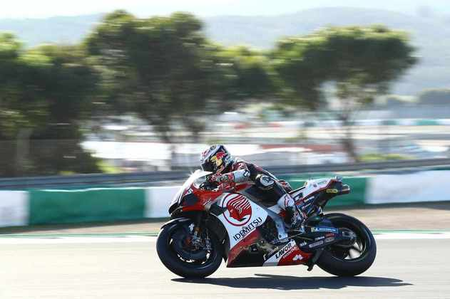 Takaaki Nakagami foi a melhor Honda do dia ao ser 12º