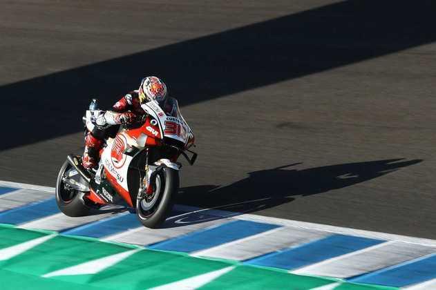 Takaaki Nakagami foi a única Honda na fase final da classificação