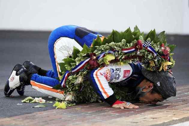 Takuma Sato venceu a Indy 500 pela segunda vez