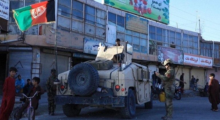 Mais duas cidades estão sob controle do Talibã no Afeganistão