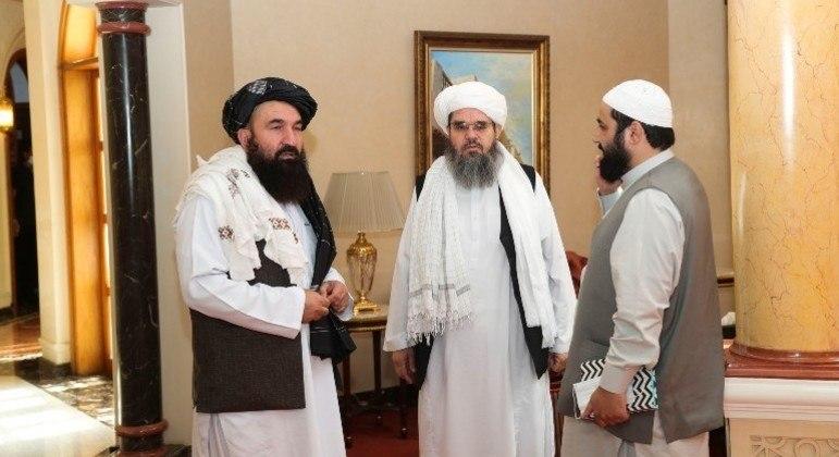 Líderes do Talibã se reuniram com autoridades dos EUA no Qatar
