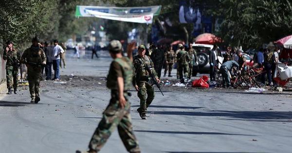 Talibã reivindica ataques em Cabul e em reunião de presidente afegão
