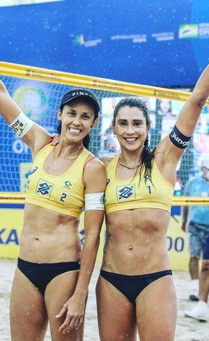 Talita e Carol conquistaram bronze