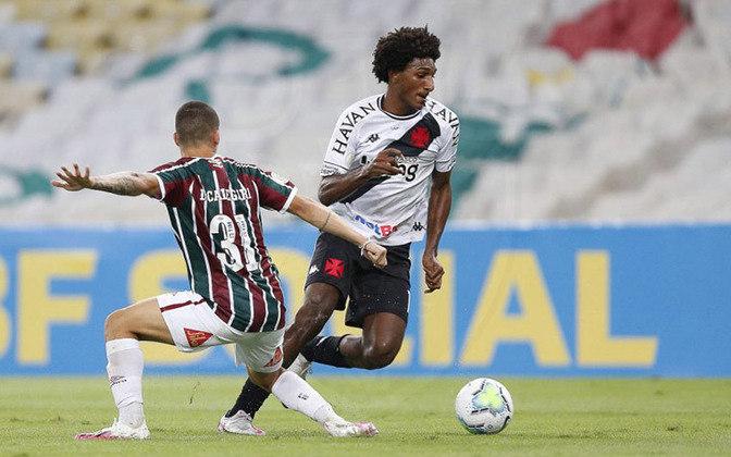 Talles Magno - Apesar dos três gols - um a mais do que em 2019, com média por jogo similar -, o atacante não mostrou para a torcida a afirmação que se esperava.