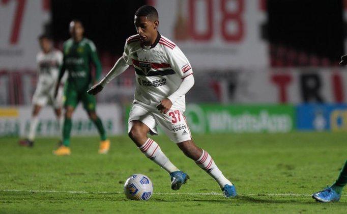 Talles - outra joia do São Paulo, o meia de 18 anos tem contrato com o clube até junho de 2022.