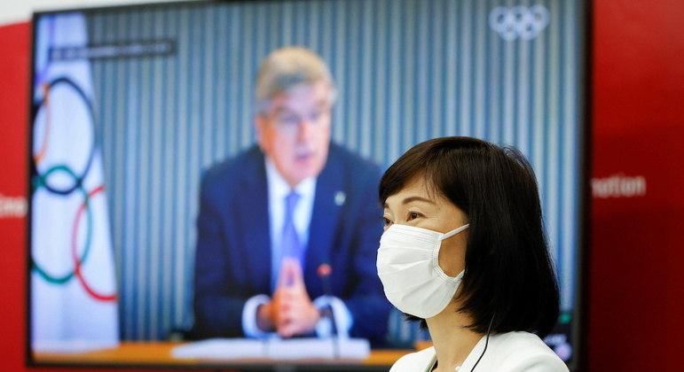 Ministra da Olimpíada, Tamayo Marukawa, foi criticada por autoridades de saúde