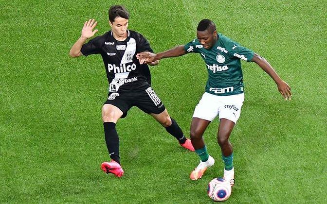 Também do Palmeiras, o volante Patrick de Paula tem 21 anos e seu contrato termina um pouco antes, em junho de 2024. Seu valor de mercado é de 9 milhões de euros (R$ 59 milhões).