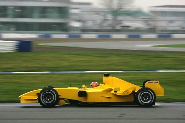 Também em 2005, a Jordan começou o ano com o EJ15 em busca de melhores resultados e chegou a conquistar um pódio com Tiago Monteiro no esvaziado GP dos EUA