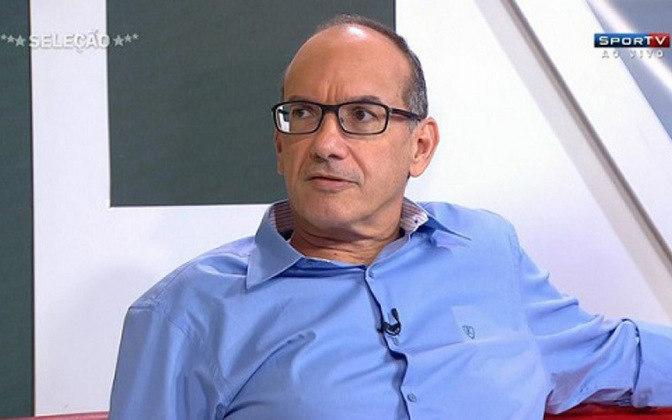 Também há cerca de um mês, Lédio Carmona, comentarista do SporTV, criticou o encontro dos presidentes de Flamengo e Vasco, Rodolfo Landim e Alexandre Campello, com Jair Bolsonaro: