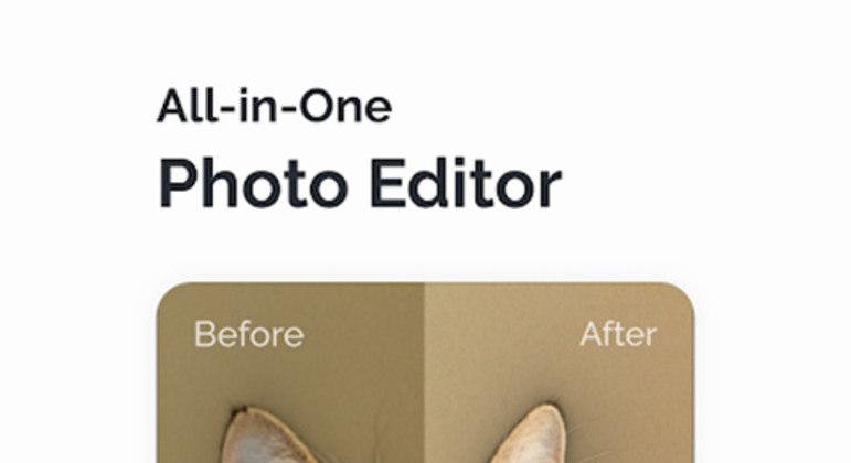 Também muito bem avaliado e com mais de 10 milhões de downloads na Play Store, o Fotor contém uma série de efeitos e ajustes, além de permitir inserção de layouts e composições de fotos.