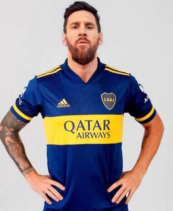 Também teve clube na América do Sul sonhando. Qual tal Messi no Boca Juniors?