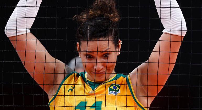 Tandara foi suspensa preventivamente d Olimpíada após exame de doping dar positivo