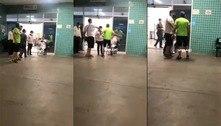Impedido de entrar em UPA, homem dá tapa em enfermeiro