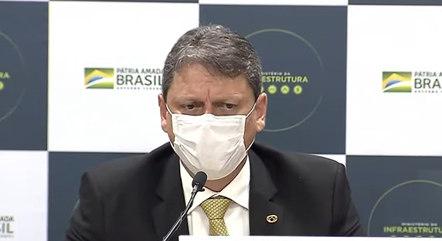 Tarcísio de Freitas fez balanço do primeiro semestre