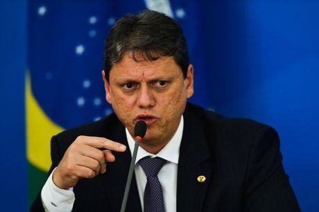 Tarcísio de Freitas exaltou gestão na Infraestrutura