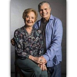 Tarcísio e Glória foram casados por 59 anos
