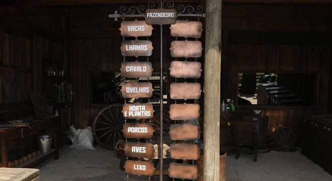 Há muita tarefa para os peões em A Fazenda, você sabe qual ficou com cada uma?