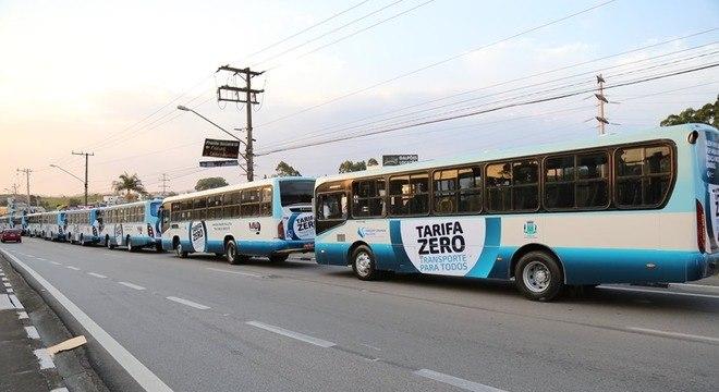 Transporte municipal de Vargem Grande Paulista passou a ser de graça