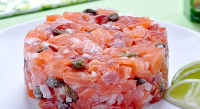 tartar salmão