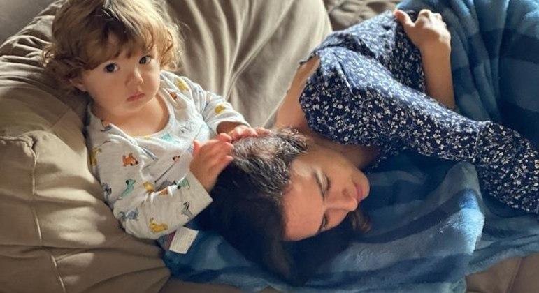 Filha de Tatá Werneck com Rafael Vitti voltou a encantar os internautas