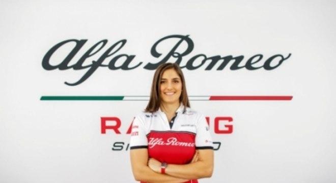 Tatiana Calderon - Alfa Romeo