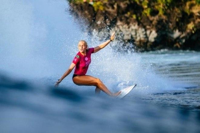 A gaúcha conseguiu a vaga olímpica por estar na oitava colocação no ranking dos surfistas profissionaisVeja mais:Cinco meses após cirurgia cardíaca, Bruna Honório volta às quadras