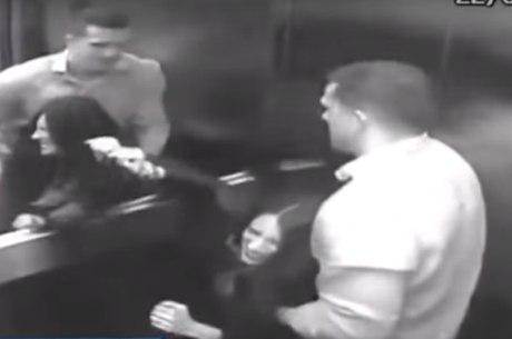 Câmeras mostram Tatiane sendo agredida por Manvailer