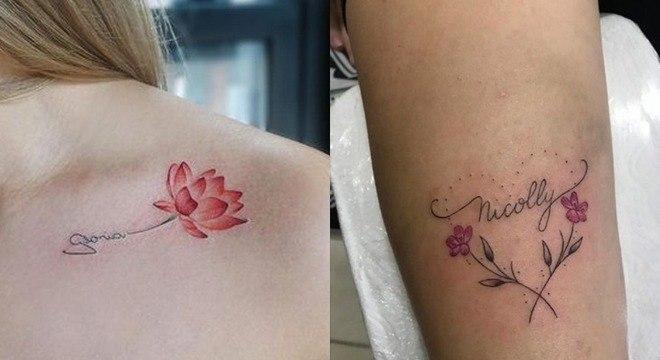 Tatuagem com o nome do filho: 18 ideias incríveis para se inspirar