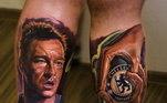 Um dos maiores zagueiros de sua época e da história do Chelsea, John Terry foi homenageado nas duas pernas