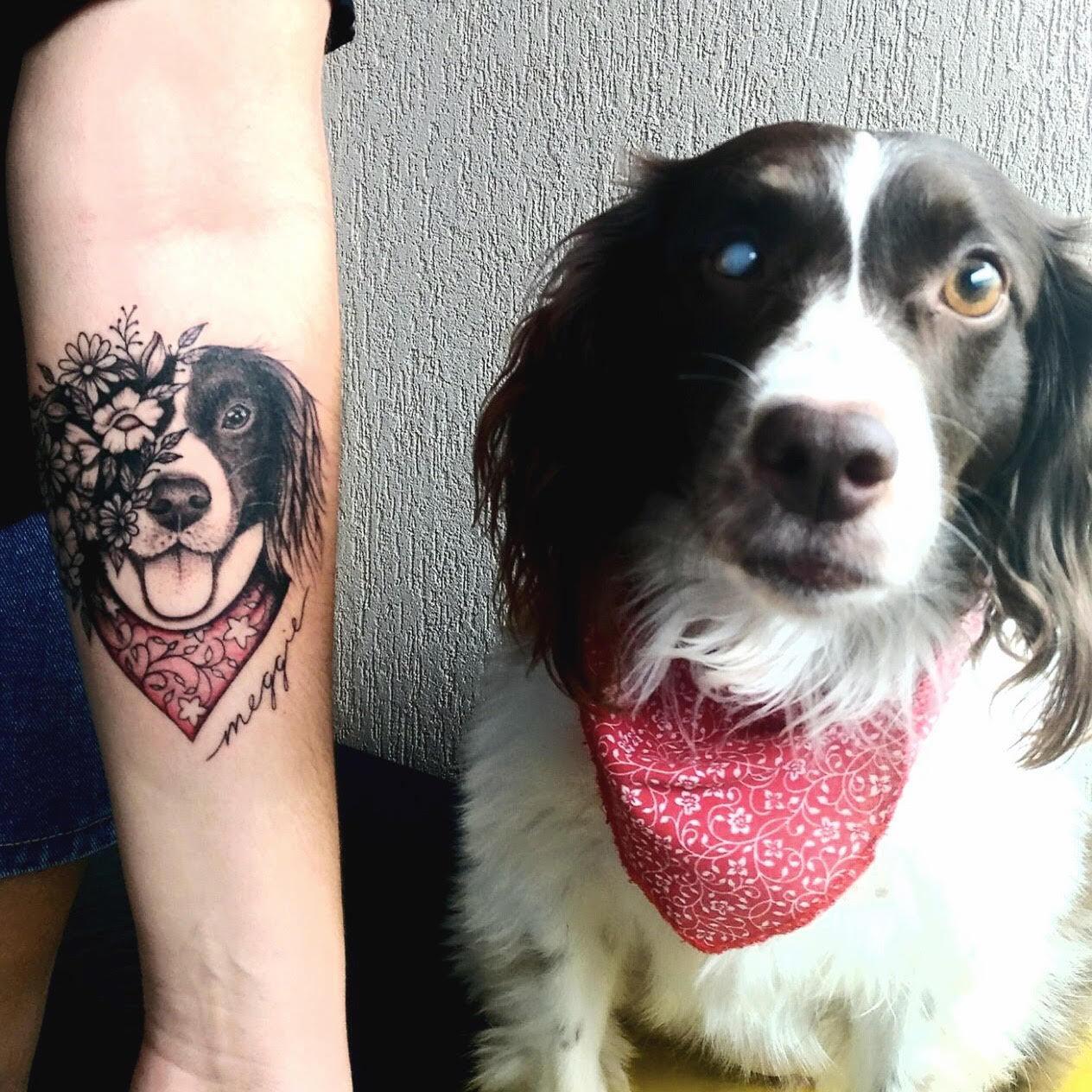 Veja Ideias De Tatuagens Para Quem Tem Bichinho De Estimacao