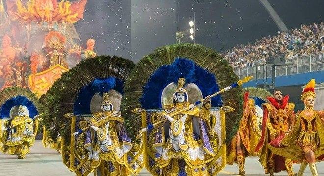 Escola da zona leste foi a sétima colocada no Carnaval 2019