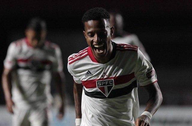 Tchê Tchê - 1 gol: o volante, que já deixou o Tricolor, marcou o quarto na goleada por 4 a 0 sobre o Santos, no Morumbi.