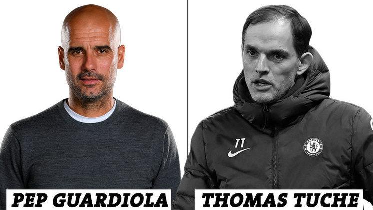 TÉCNICO: 14 votos para Pep Guardiola; 1 voto para Thomas Tuchel.