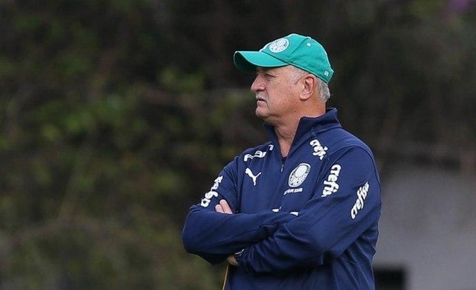 Técnico na conquista da Liberta de 99, Felipão dirigiu o Palmeiras em 2018 até a metade de 2019. Hije, procura um novo clube para treinar.
