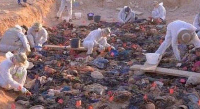 As autoridades querem transferir os restos mortais para a região curda