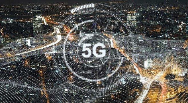 As grandes cidades estão adotando rapidamente a tecnologia 5G